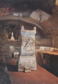 The Temple of Mithras in Basilica San Clemente