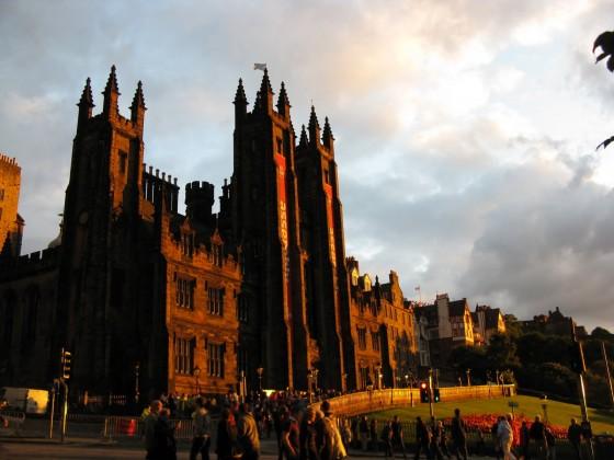 Photo of Edinburgh Sunset in Edinburgh, Scotland