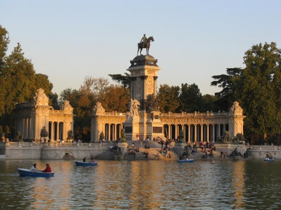 Parque Retiro, Madrid, Spain