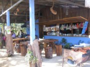 A quaint roadside restaurant that we stopped at in Chiang Dao Thailand for lunch that was right on the river.