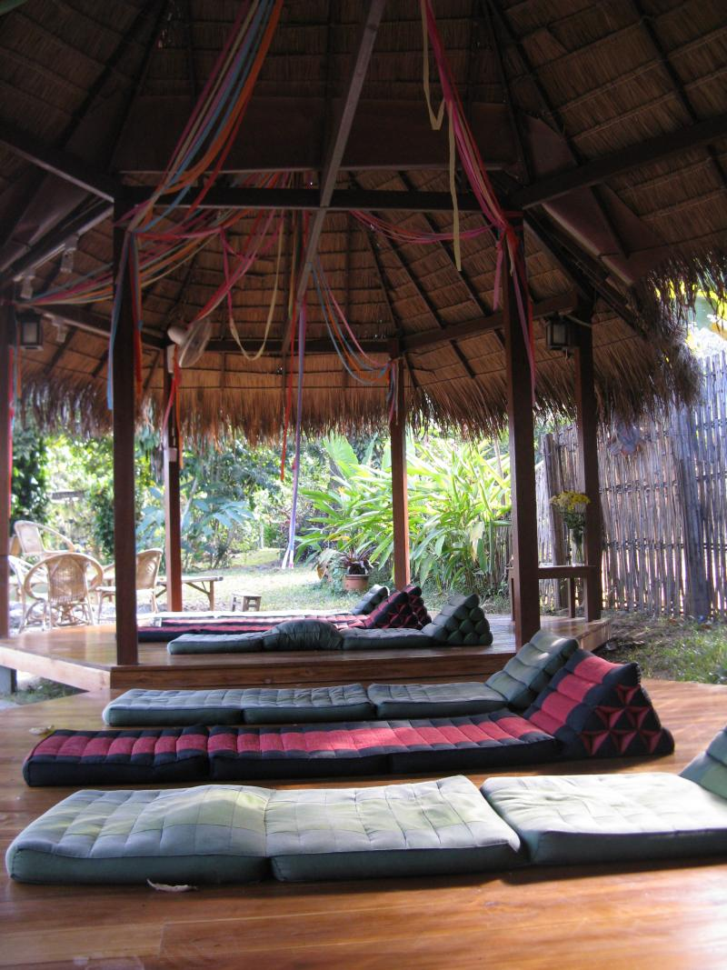 Chiang Dao Nest relaxation pavillion