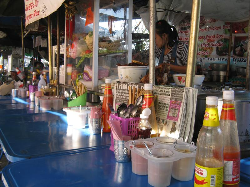 Street Food booth, Chiang Mai Thailand