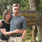 Shanna and Aaron at the Summit of Doi Pui