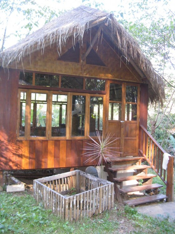 Thai massage bungalow at Chiang Dao Nest