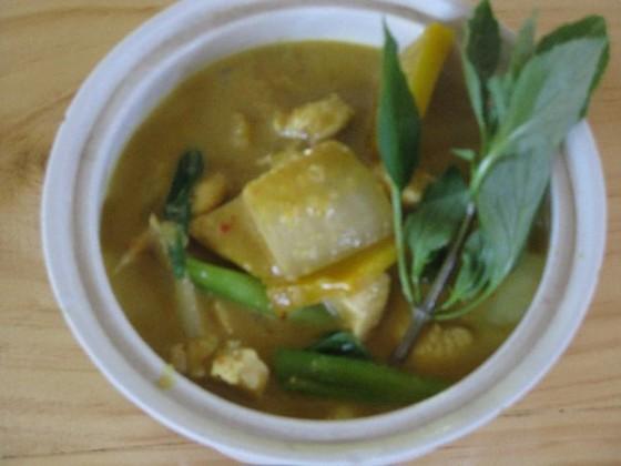 Thai farm cooking schol chicken curry