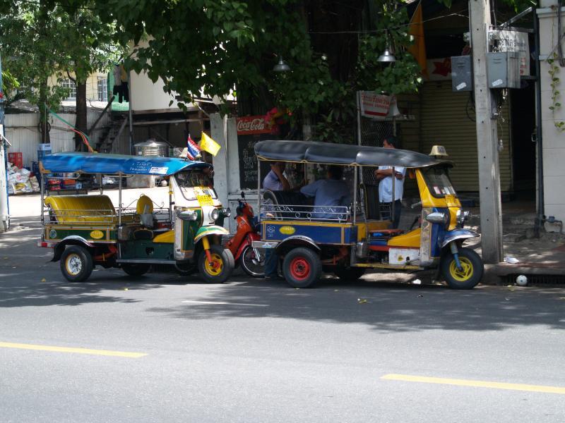 Thailand-Tuk_tuk budget for Thailand
