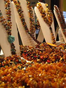 Tucson Gem and Mineral Show Amber Jewelry