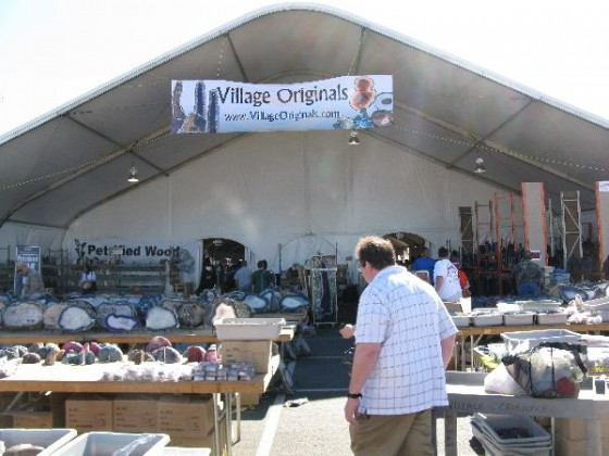 Tucson Gem Show Village Originals Tent