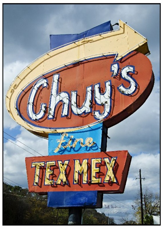 Austin TX Chuys Tex Mex restaurant one day in Austin Texas
