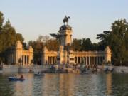 Parque Retiro Madrid Spain