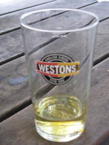 Westons Hard Cider Edinburgh Scotland