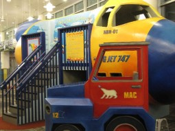 The kids play area at the Minneapolis St. Paul International Airport (MSP)