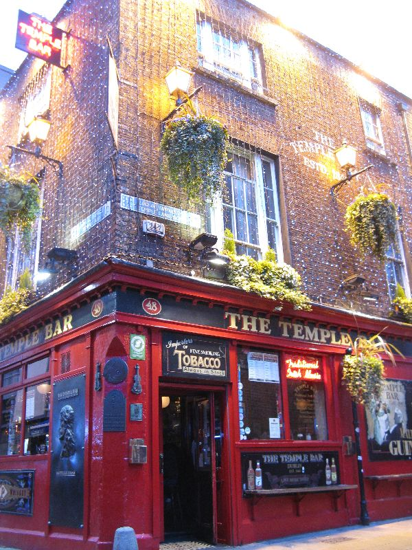 things to do in Dublin Temple Bar