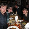 Us at Johnnie Fox's famous Hooley Night