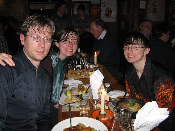What to do in Dublin Us at Johnnie Fox's famous Hooley Night