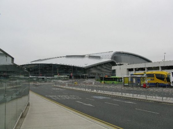 Exterior of the Dublin airport