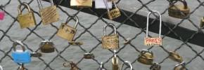 Locks of Love in Paris