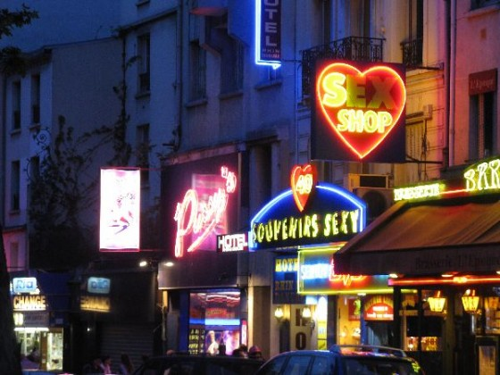 Paris Red Light District