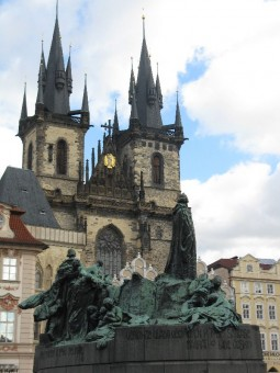 In old towne square, Prague