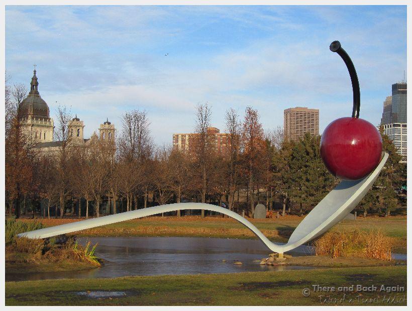 Spoon and Cherry Sculpture Minneapolis Minnesota