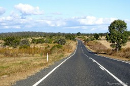 Empty road in Australia