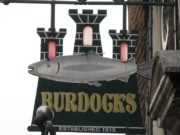 Leo Burdock's fish and chips in Dublin