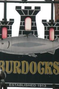 Leo Burdock's fish and chips in Dublin