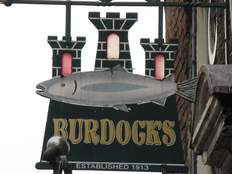 Leo Burdock's fish and chips Dublin