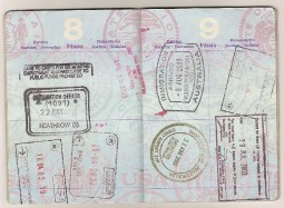 US Passport Pages
