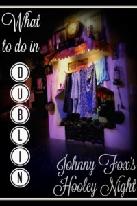 What to do in Dublin Johnny Fox's Hooley Night