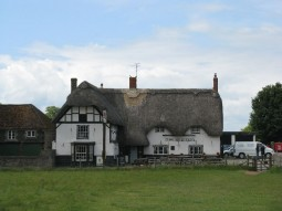 The Red Lion Pub in Avebury, England