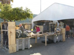 The tent with the great onyx vendors near River Park Inn on Hotel Row at the Tucson Gem Show