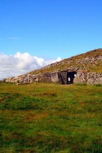 Neolithic passage tomb Loughcrew Ireland