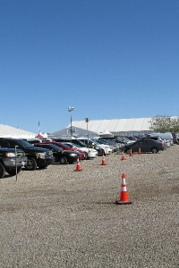 The G & LW / Gem Mall tents at the Tucson Gem Show