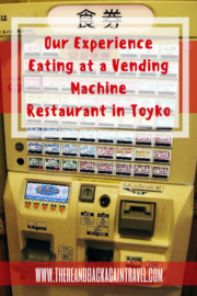 Vending Machine Restaurant Tokyo
