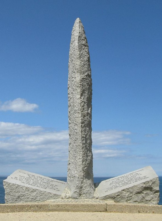 Pointe Du Hoc Monument Normandy France