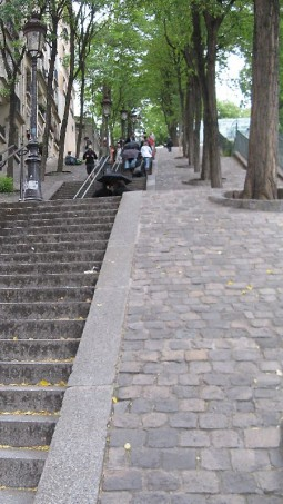 Stairs Steps Paris Monmarte