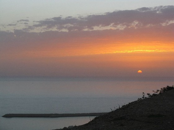 Sunset from Agadir, Morocco