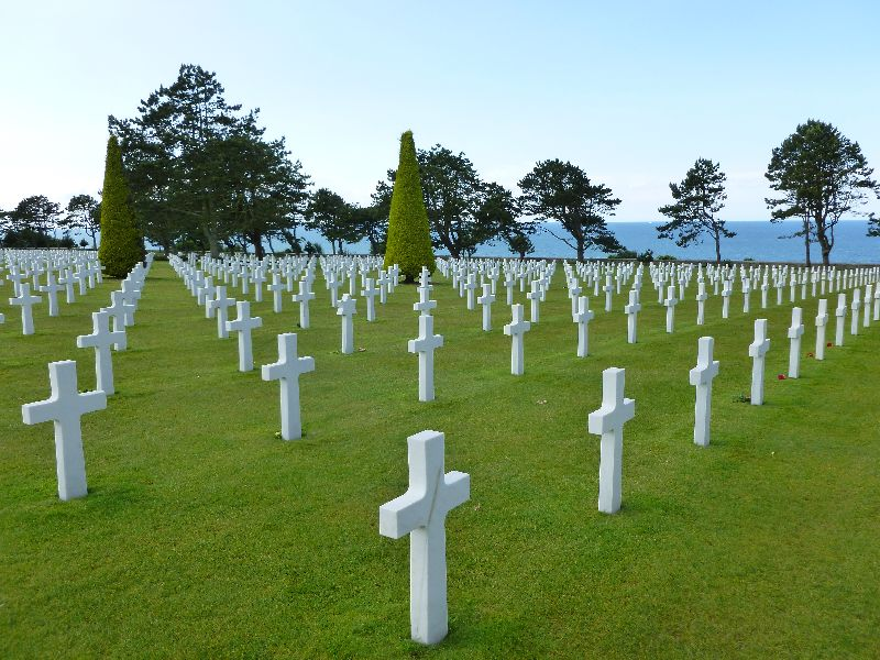 US Cemetary Normandy France