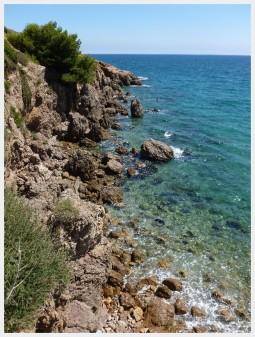 The Mediterreanean coast of France