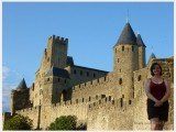 Shanna at Carcassonne France