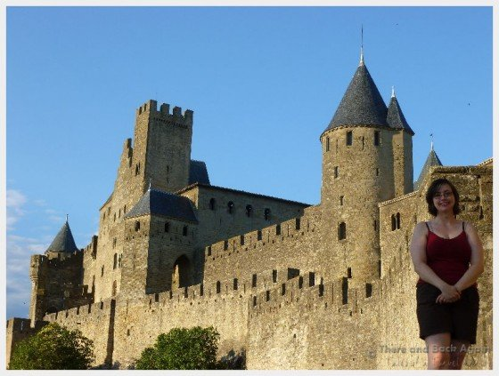 Shanna at Carcasonne France