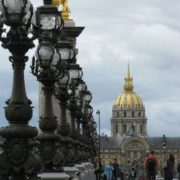 Pont Alexander and Gold Dome in Paris