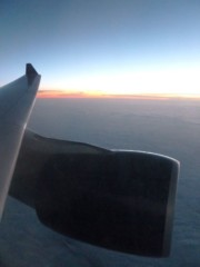Sunrise Airplane Wing