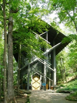 Thorncrown Chapel Arkansas