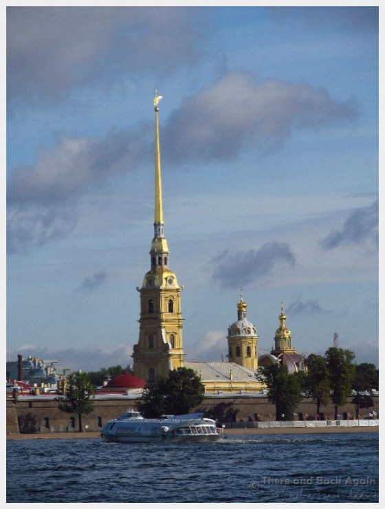 Peter and Paul Fortress, St Petersburg Russia