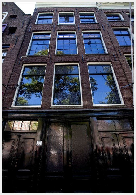 Anne Frank House Front Anne Frank Museum Amsterdam