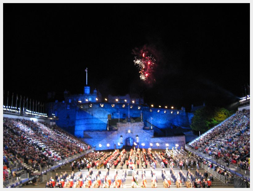 Edinburgh Tattoo at Edinburgh Castle