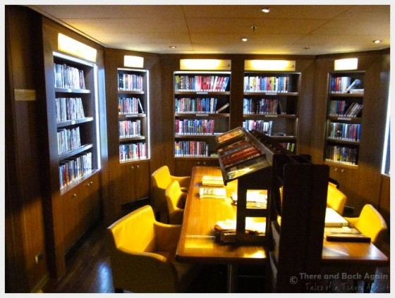 Holland America Line MS Eurodam Library