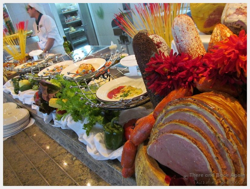 Holland America Buffet- what not to eat on a cruise ship